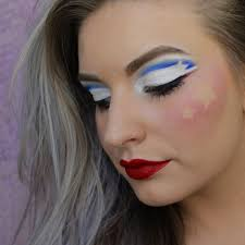 03 american independence day makeup pic originally posted beautybyleone via