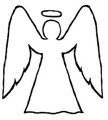Angels Picture Angel Coloring Pages Angel