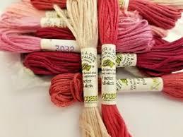 Soie D Alger Colour Chart Details About Au Ver A Soie Soie Dalger 7 Ply Silk Floss 3000 3200 Range You Choose Colors