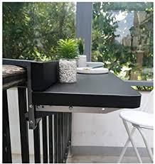 Balcony Railings Hanging Folding Table Dining Table ... - Amazon.com