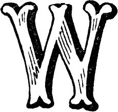 Decorative Letters Decorative Letter W Letters Numbers Pinterest Search