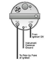 engine instrument wiring made easy boats com figure 1 tachometer terminals
