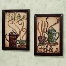 wall art decor ideas hot looking metal coffee wall art coffee kitchen  on wall art kitchen coffee with coffee wall decor kitchen coffee drinker