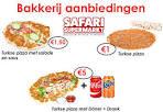 supermarkt aanbiedingen pizza