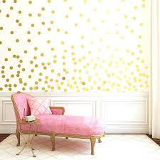gold dot wall decals metallic polka dots stickers l and stick australia go gold polka dots spots wall sticker
