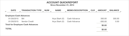 Tallie Expense Reports Quickbooks Online Cash Advance 4