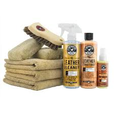 com chemical guys hol303 leather cleaner and conditioner care kit 4 fluid ounces automotive