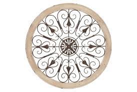 Find the perfect patio furniture & backyard decor at hayneedle, where you can buy online while you explore our room designs and curated looks for tips, ideas & inspiration to help you along the way. 36 X 36 Vintage Style Round Wall Decor Living Spaces