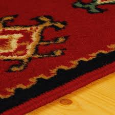 superior santa fe collection 5 x 8 area rug attractive rug with