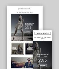 fashion emerce responsive email with mailchimp editor stready builder