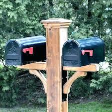 mailbox post plans. Wonderful Mailbox Double Mailbox Post Plans Decorative Cedar Wood With Designs 16 Inside