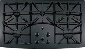 ge profile jgp970bekbb 36 inch gas cooktop 5 sealed burners