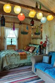 Church Camp cabin idea! Red Mexican bedroom | Mexico Interior Decorating  Ideas | Better Home