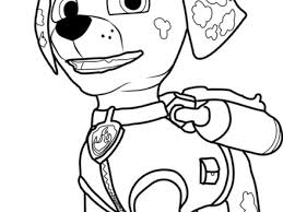34 Coloring Pages Of Paw Patrol Paw Patrol Halloween Colouring