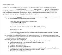 Letter Of Intent To Purchase Business Template New Letter Of Intent To Purchase Assets Of Business Template