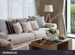 Modern Living Rooms Designs Modern Living Room Design Sofa Wooden Stock Photo 234327256