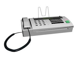Digital Fax Machine 3d Model 3d Studio Files Free Download