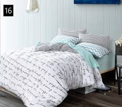 high count density cotton duvet covers set black bedding for cover twin ideas 9