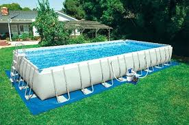 rectangle above ground swimming pool. Swimming Pool Rectangular Ultra Frame Above Ground Covers . Rectangle I