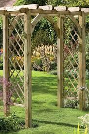 10 beautiful diy garden arbor plans to