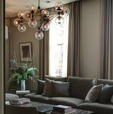 contemporary living room chandelier