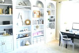 bookshelves for office. Bookshelves Office Book Shelves White Arched Ideas For