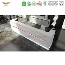 white curverd reception desks spa reception desk for salon used