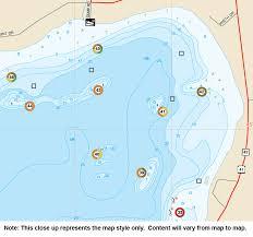 Upper Niagara River Fishing Map