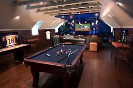 Sports Man Cave Room Sophistication D Throughout Perfect Design