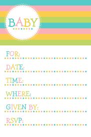 Free Templates Invitations Printable 25 Adorable Free Printable Baby Shower Invitations