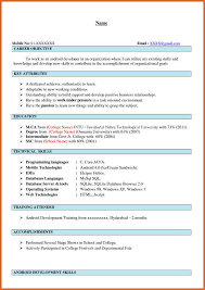 Android Developer Resume Sample Android Developer 1 Yralaska Com