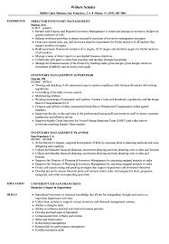 Inventory Management Resume Samples Velvet Jobs
