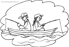 Small Picture girl fishing coloring pages coloring pages for girls animals fish
