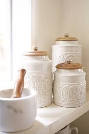 best 25 kitchen canisters ideas on apothecary jars