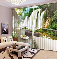 Waterfall Home Decor 2017 Home Decor Modern Waterfall Balcony Curtain Living Room