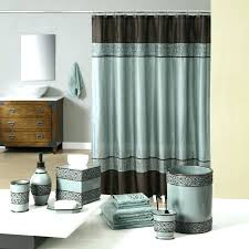 brown bathroom accessories. Industrial Bathroom Accessories Dazzling Brown Teal And Bath Welcome Gala Blue E