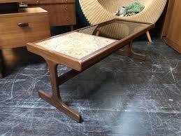 g plan coffee table with smoked glass tiles