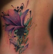 тату на спине у девушки цветы фото рисунки эскизы