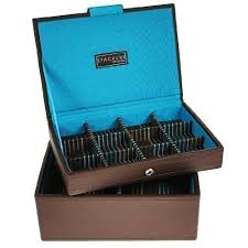 mens brown mini stacker watch and cufflinks box set of 2 trays as mens brown mini stacker watch and cufflinks box set of 2 trays as shown jewellery watch box amazon co uk kitchen home