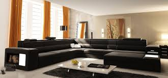 U Shaped Couch Living Room Furniture Arrange A Living Room With Large Sectional Sofas The Homy Room