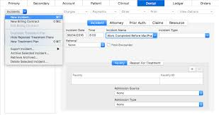New Admission Charting Dental Charting Past Work Macpractice Helpdesk