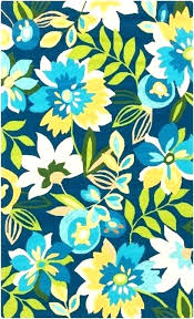 bright colored fl rugs flower blue rug full size of area in living room wool runner