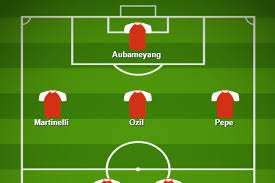 Arsenal XI vs Man City: Confirmed team news, predicted lineup and ...