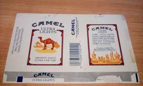 Camel Ultra Lights Marquilla Camel Ultra Lights Usa 185 00