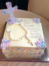 Ideas For First Communion Cakes S Homeinteriorplus