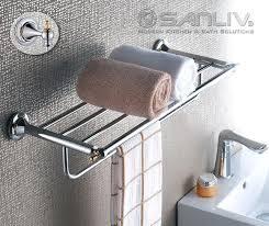 Bath towel hanger Organizing Bathroom Towel Holder Hotel Towel Rack Shelf Hotel Bathroom Fittings Amp Accessories Bathroom Accessories Towel Racks Bathroom Towel Holder Gooddiettvinfo Bathroom Towel Holder Best Hand Towel Holders Ideas On Bathroom Hand