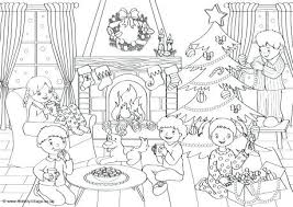 Winter Girl Coloring Pages Free Printable Gorgeous S Colorin Scenes