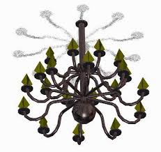 lamp chandelier 3d dwg model for autocad advertisement