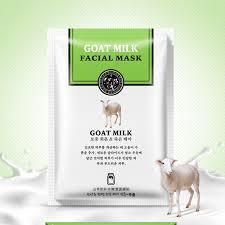 5Pcs <b>Han Chan Facial Mask</b> Skin care Natto/Goat Milk Moisturizing ...