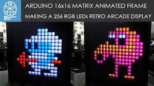 Rgb Pixel Led Ws2812 Shadow Designer Software Download Making An Arduino Animated Frame With 256 Rgb Leds Brainy